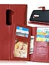 G2 (모듬 색상)를 LG 전자에 대한 고급 PU 가죽 플립 커버 (9) 카드 홀더 지갑 케이스