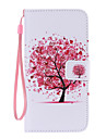 Red Tree Painted PU Phone Case for Galaxy S6edge Plus/S6edge/S6/S5/S5mini/S4/S4mini/S3/S3mini