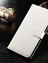 Для Samsung Galaxy S7 Edge Бумажник для карт / Кошелек / со стендом / Флип Кейс для Чехол Кейс для Один цвет Твердый Искусственная кожа