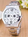 reloj blanco y negro Mujer