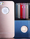 DF® Luxury Solid Color Brushed Aluminium Case for iPhone 5/5S(Assorted Colors)