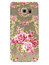 Rose Pattern TPU Relief Back Cover Case for Galaxy S5/Galaxy S6/Galaxy S6 Edge Plus