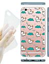 para o iphone 7 maycari® memoria de infancia macio TPU transparente caso volta para o iPhone 6s 6 mais