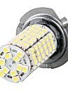 2pcs Car H7 Fog Headlight Bulbs Lamp 3528SMD White 120 LED Light 12V
