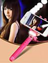 mini-monopode reglable ultra avec flash LED lumineux support de telephone portable universel selfie baton