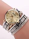 Xu™ Women's Snakeskin Grain Bracelet Quartz Watch Cool Watches Unique Watches