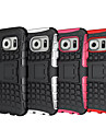 For Samsung Galaxy S8 Plus Shockproof Embossed Case Back Cover Case Armor PC Samsung S7 edge S7 S8