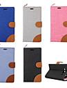 Pour Samsung Galaxy Coque Porte Carte Avec Support Clapet Coque Coque Integrale Coque Couleur Pleine Cuir PU pour SamsungOn 7 On 5 Grand