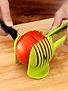 1개 Apple 오렌지 감자 토마토 레몬 커터 & 슬라이서 For 야채에 대한 플라스틱 크리 에이 티브 주방 가젯 노블티