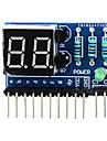 """2 chiffres anode commune 0,36 """"du module d\'affichage numerique pour Arduino + framboise pi - bleu"""