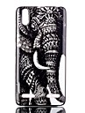 Elephant Pattern TPU Phone Case for Lenovo A6000