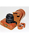 Dengpin® PU Leather Camera Case Bag Cover with Shoulder Strap for Canon EOS M10 15-45 Lens (Assorted Colors)