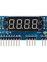 """4-значный общий анод 0,36 """"цифровой дисплей модуль для Arduino + Raspberry Pi - синий"""