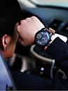 Men JIS watch Quartz Waterproof Sports Watch Calendar Genuine Leather montre reloj relogio(Assorted Color) Wrist Watch Cool Watch Unique Watch