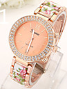 Ladies' Watch The New Geneva Double Diamond Ceramic Acrylic Alloy Stamp Watch Cool Watches Unique Watches