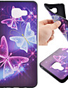 For Samsung Galaxy Case Pattern Case Back Cover Case Butterfly TPU Samsung A7(2016) / A5(2016) / A3(2016)