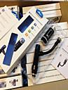 transmissor F33 maos livres bluetooth fm suporte A2DP novo carregador de carro