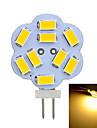 Marsing® G4 2W 200lm 3500K/6500k 9x5730 LED Warm/Cool White Light Bulb Lamp (AC 12V)