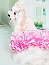 Dog Dress Yellow / Green / White / Pink Dog Clothes Summer Fashion