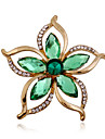 Alloy/Acrylic/Rhinestone Brooch/Fashion Bauhinia Flower Brooch/Wedding/Party/Daily 1PC