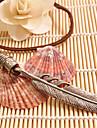 Ожерелье Ожерелья с подвесками Бижутерия Кожа Повседневные / Спорт Коричневый Геометрической формы 1шт Подарок