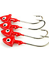 Fishing-10 pcs Red Metal-Brand  New Bait Casting / Spinning / Freshwater Fishing / Bass Fishing / Lure Fishing / General Fishing