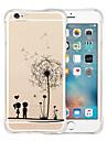 용 아이폰6케이스 / 아이폰6플러스 케이스 충격방지 / 투명 / 패턴 케이스 뒷면 커버 케이스 카툰 소프트 실리콘 iPhone 6s Plus/6 Plus / iPhone 6s/6