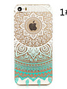Sunflower Painted Pattern Hard Plastic Back Cover For iPhone5S/iphoneSE 4.0""
