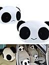 ZIQIAO 1 Pair Cute Lovely Panda Pattern Car Seat Neck / Head Pillow Soft Back Cushion Headrest Neck Pillow