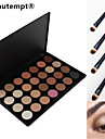 28 Colors Smoky Eyeshadow/Base Primer/Foundation/Blusher/Bronzer Professional Cosmetic Palette with 4 Eyeshadow Brush
