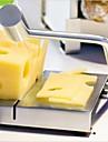 outil cuisine de coupe de la main de fil d\'acier inoxydable nouvelle carte de coupe fromage trancheuse