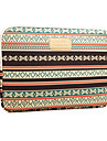 """Sleeve for MacBook Pro 15.4"""" Bohemian Style Stripes Canvas Material New Bohemian style Laptop Cover Sleeves Shakeproof Case"""