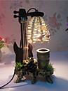 творческое дерево скрипка с украшением контейнер ручки настольной лампы спальне лампы дар для малыша