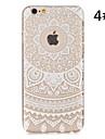 Pour Coque iPhone 6 / Coques iPhone 6 Plus Transparente / Motif Coque Coque Arriere Coque A Dentelle Dur PolycarbonateiPhone 6s Plus/6