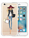 Queen\'s Favorites Soft Transparent Silicone Back Case for iPhone 6s 6 Plus