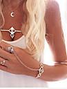 Bracelet/Cuff Bracelets Alloy / Acrylic Party / Daily / Casual Jewelry Gift Silver,1set