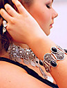 Ethnic Style Carved Black gem Alloy  Bangles Daily / Casual 1pc