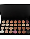 28 Colors Professional 5in1 Smoky Eyeshadow/Makeup Base Primer/Foundation/Blusher/Bronzer Cosmetic Palette