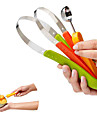 3PC Chef Scoop Troop Melon Baller and Fruit Scoop Set
