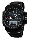 SKMEI® Men's Sporty Watch Analog-Digital Dual Time Zones Slide Rule/Calendar/Chronograph/Alarm Cool Watch Unique Watch
