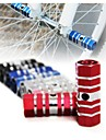 1Pair Mountain Road Bicycle Pedals Flat Aluminum Alloy Pedals Platform  Cycling Accessories