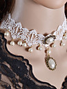 Ожерелье Ожерелья-бархатки Ожерелья-обручи Готический ювелирные изделия Татуировка Choker БижутерияСвадьба Для вечеринок Halloween