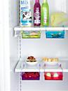 diy χώρο ψυγείο κουζίνα προφύλαξη διαφάνεια διοργανωτής κάτω ράφι αποθήκευσης κάτοχος ράφι