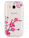 Flower PatternTransparent Soft TPU Back Case for Galaxy Grand Prime/Galaxy Core Prime