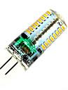 5w g4 на основе 64smd 3014 350lm теплый свет / белый свет крошечные светодиоды кукурузы свет