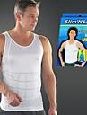 mens minceur corps shaper gilet abs shirt abdomen mince