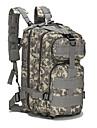20-35 L mochila Acampada y Senderismo Al Aire Libre Impermeable Gris / Caqui / Negro Oxford AILE