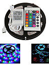 ZDM™  5M 300X2835 Waterproof SMD RGB  LED Strip Light  IP65 with 24Key Remote Controller (DC12V)