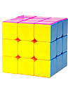 Yongjun® Smooth Speed Cube 3*3*3 Speed Magic Cube Rainbow ABS