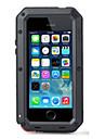 toophone® joylandsuper 차가운 금속 변압기 방수 방진 안티 아이폰 4 / 4S에 대한 사례를 다시 긁어